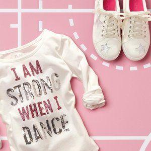 Children's Place Girls' Long Sleeve Shirt XL (14)